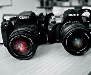 canon, camera, and sony image