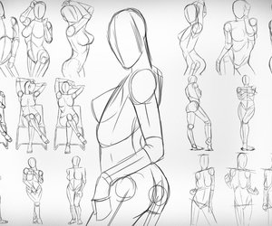 draw, body, and drawing image