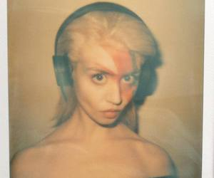 allison harvard, big eyes, and blonde girl image