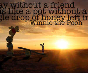 quote, winniethepooh, and sunset image