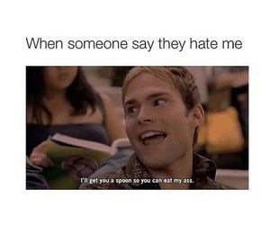funny, haters, and lol image