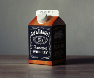jack daniels, whiskey, and milk image