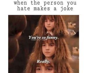 harry potter, funny, and hate image