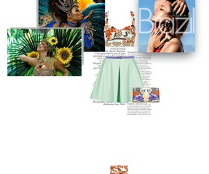 brazil, Polyvore, and trend image