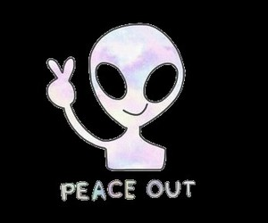 alien and peace image