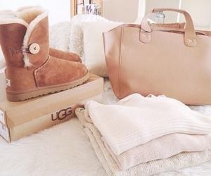 bag, beautiful, and uggs image