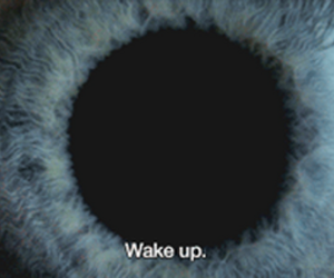 eye, wake up, and gif image
