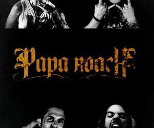 cool, music, and papa roach image