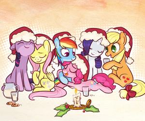 christmas, MLP, and my little pony image