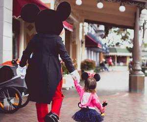 baby and mickey mouse image