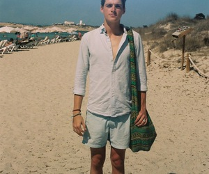 beach, Hot, and guy image