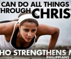 Christianity, spiritual inspiration, and strenght image