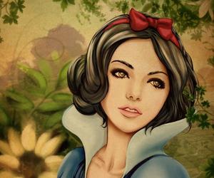 snow white, disney, and princess image