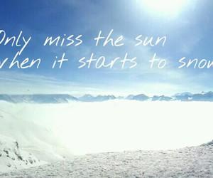 austria, miss, and ski image