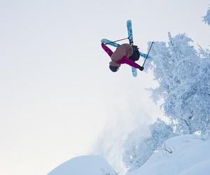 freestyle, ski, and snow image