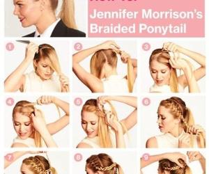 blonde, nice, and braid image