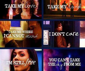 doctor who, rory, and river song image