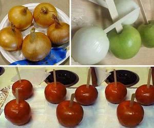 apple, funny, and joke image
