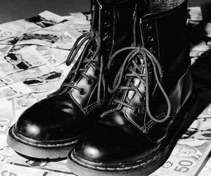 accesories, boots, and grunge image