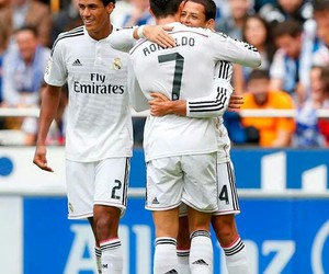 real madrid, chicharito, and cristiano ronaldo image