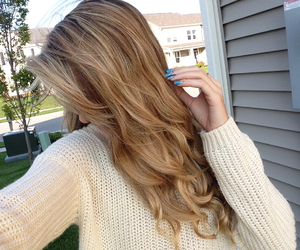 autumn, cold, and curly image
