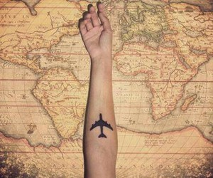 cool, world, and plane image