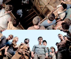 james dashner, film, and maze runner image