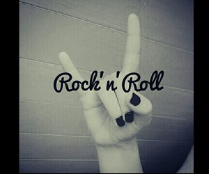 music, rock'n'roll, and style image