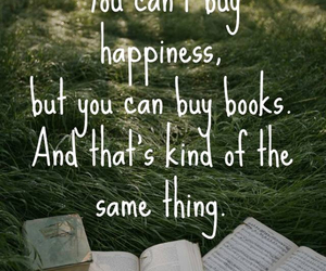 books, forest, and happiness image