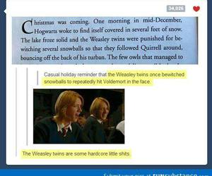 harry potter, funny, and awesome image