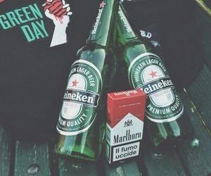 marlboro, beer, and green day image
