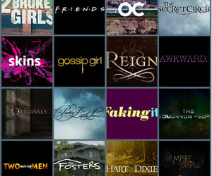gossip girl, skins, and pretty little liars image