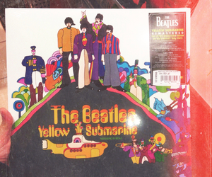 disk, music, and the beatles image