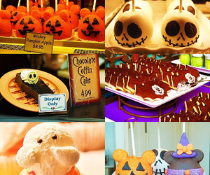autumn, cake, and disney land image