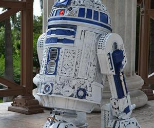 design, r2d2, and robot image