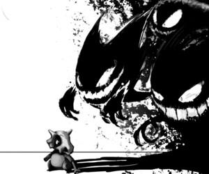 pokemon, cubone, and gengar image