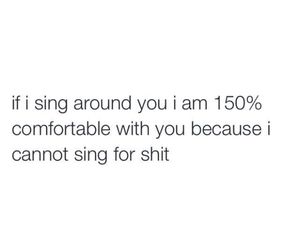 quotes, sing, and funny image