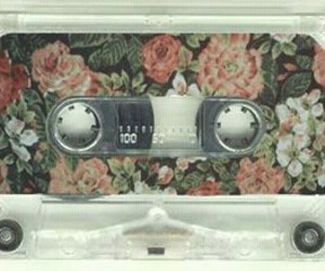 flowers, vintage, and music image
