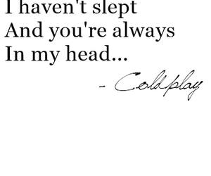 coldplay, quote, and love image