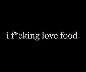 food, life, and love image