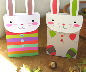 bags, bunny, and diy image