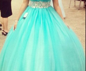 dress, quinceanera, and cute image