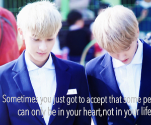 exo, kris, and quote image