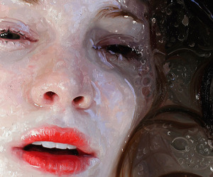 Oil Painting, realism, and woman image