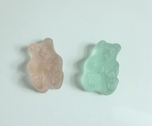 bear, pastel, and blue image