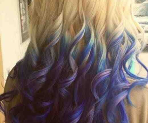 ombre, purple, and cute image