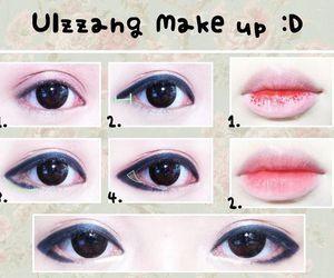 ulzzang and makeup image
