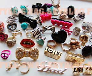 swag, bague, and bagues image