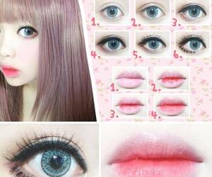 kawaii and make up image