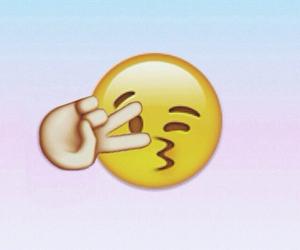 emoji and kiss image